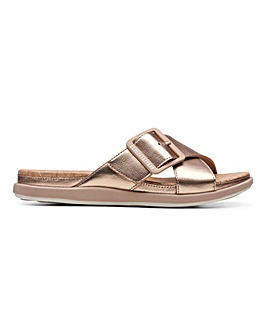 Clarks Step June Shell Sandals D Fit
