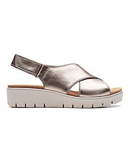 Clarks Slingback Sandals E Fit