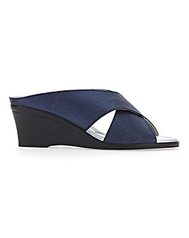 Lotus Trino Wedge Sandals Wide E Fit
