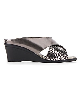 Lotus Trino Wedge Sandals Standard D Fit
