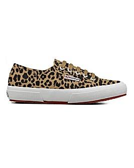 Superga 2750 Fantasy Leopard Print Leisure Shoes Standard D Fit