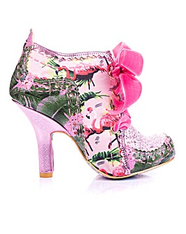 Irregular Choice Tenage Abigail Lace Up Shoe Boots Standard D Fit