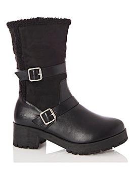 Quiz Biker Boots
