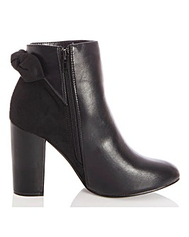 Quiz Heeled Ankle Boots