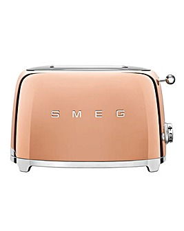 Smeg TSF01 2 Slice Rose Gold Toaster