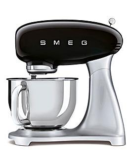 Smeg SMF02 Retro Style Black Stand Mixer