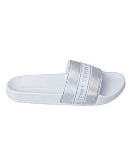 Tommy Glitter Pool Sliders D Fit
