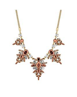 Mood Metallic Statement Necklace