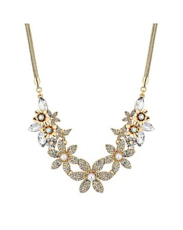 Mood Floral Statement Necklace