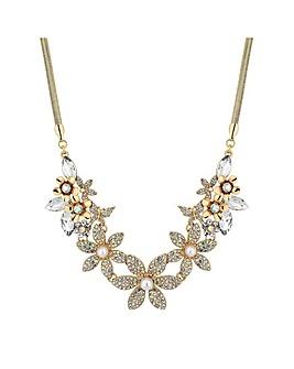 Mood Floral Statement Necklace