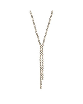 Mood Crystal Lariat Necklace