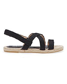 Raid Rudi Espadrille Slingback Sandals Standard D Fit