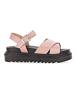 Raid Chunky Buckle Sandals E Fit