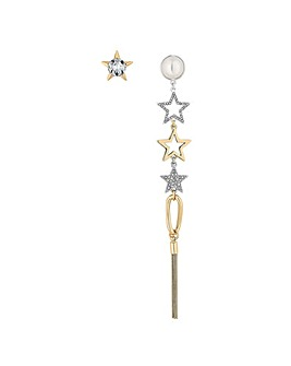 Mood Star Mismatched Earring Set