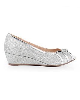 Paradox London Juno Peep Toe Shoes