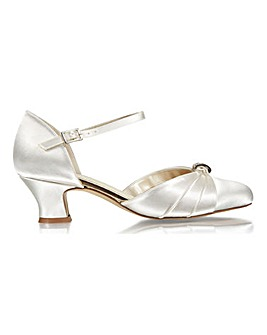 Paradox London Avalyn Ankle Strap Shoes Wide E Fit