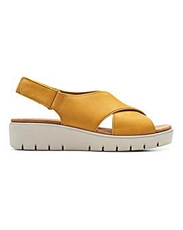 Clarks Un Karely Sun Slingback Sandals Standard D Fit