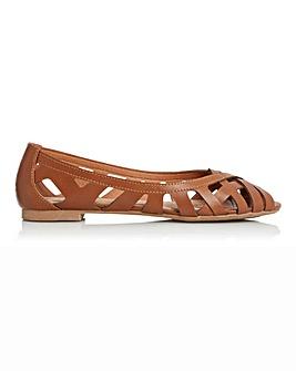 Head Over Heels Peep Toe Shoes