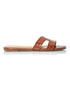 Head Over Heels Lucien Interlaced Slider Sandals Standard D Fit