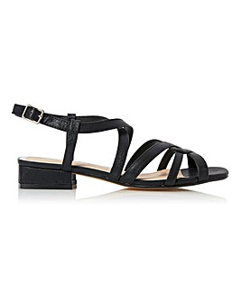Head Over Heels Jaidan Strappy Slingback Sandals Standard D Fit
