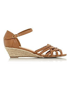 Head Over Heels Katana Wedge Espadrilles Standard D Fit