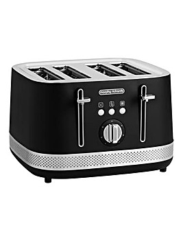 Morphy Richards 248020 Illumination 4 Slice Black Toaster