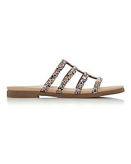 Head Over Heels Leilani Strappy Slider Sandals Standard D Fit