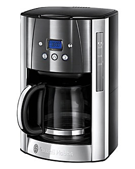 Russell Hobbs Luna Grey Coffee Maker