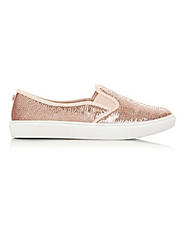 Head Over Heels Esther Slip On Leisure Shoes Standard D Fit