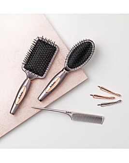 BaByliss Love Your Hair Style Hair Brush Collection