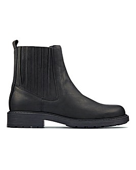 Clarks Orinoco 2 Mid Leather Boots E Fit