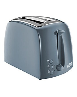 Russell Hobbs 21644 Textures Grey 2 Slice Toaster