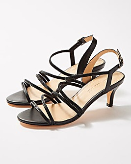 Strappy Heeled Sandals E Fit