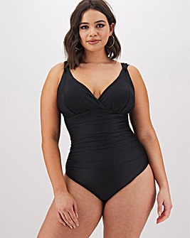 MAGISCULPT Black Lose Up To An Inch Shaping Swimsuit - Standard Length