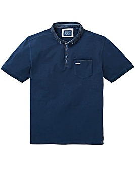 Bewley & Ritch Pegg Print Collar Polo Regular