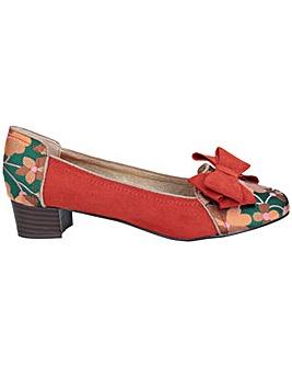 Ruby Shoo Aurora Low Heeled Shoe