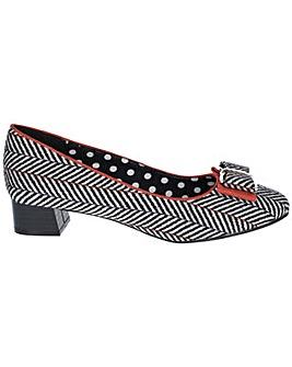 Ruby Shoo June Low Heeled Shoe