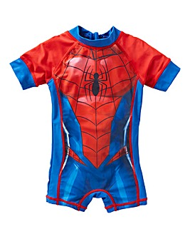 Spiderman Boys Sunsafe Suit