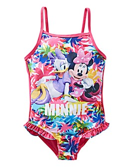 Minnie Mouse Girls Swimming Costume