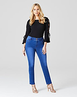 Shape & Sculpt Straight Jeans Long