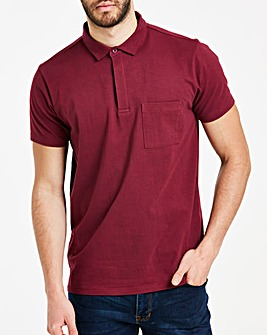 Magenta Stretch Jersey Polo