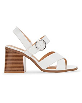 Alaska Buckle Block Heels Wide Fit