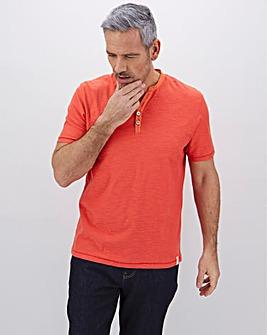 Y-Neck Short Sleeve T-Shirt