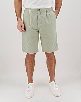 Sage Green Side Elasticated Shorts
