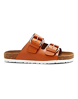 Rhodes Leather Footbed Wide E Fit