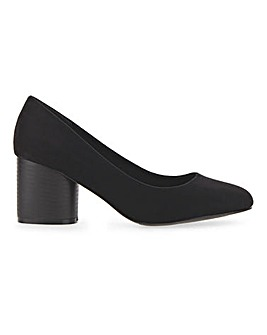 Claudius Round Heel Court Wide Fit