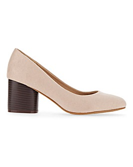 Claudius Round Heel Court Wide E Fit