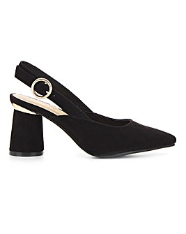 Otho Slingback Detail Courts Wide Fit