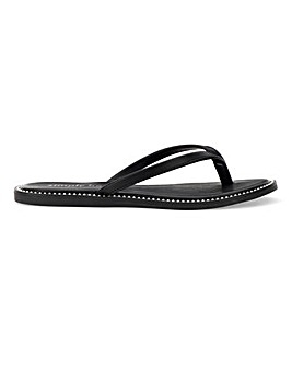 Stanford Toe Post Sandal Extra Wide Fit