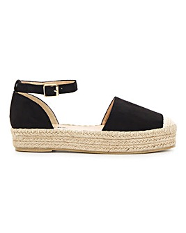 Faline Espadrille Wide E Fit
